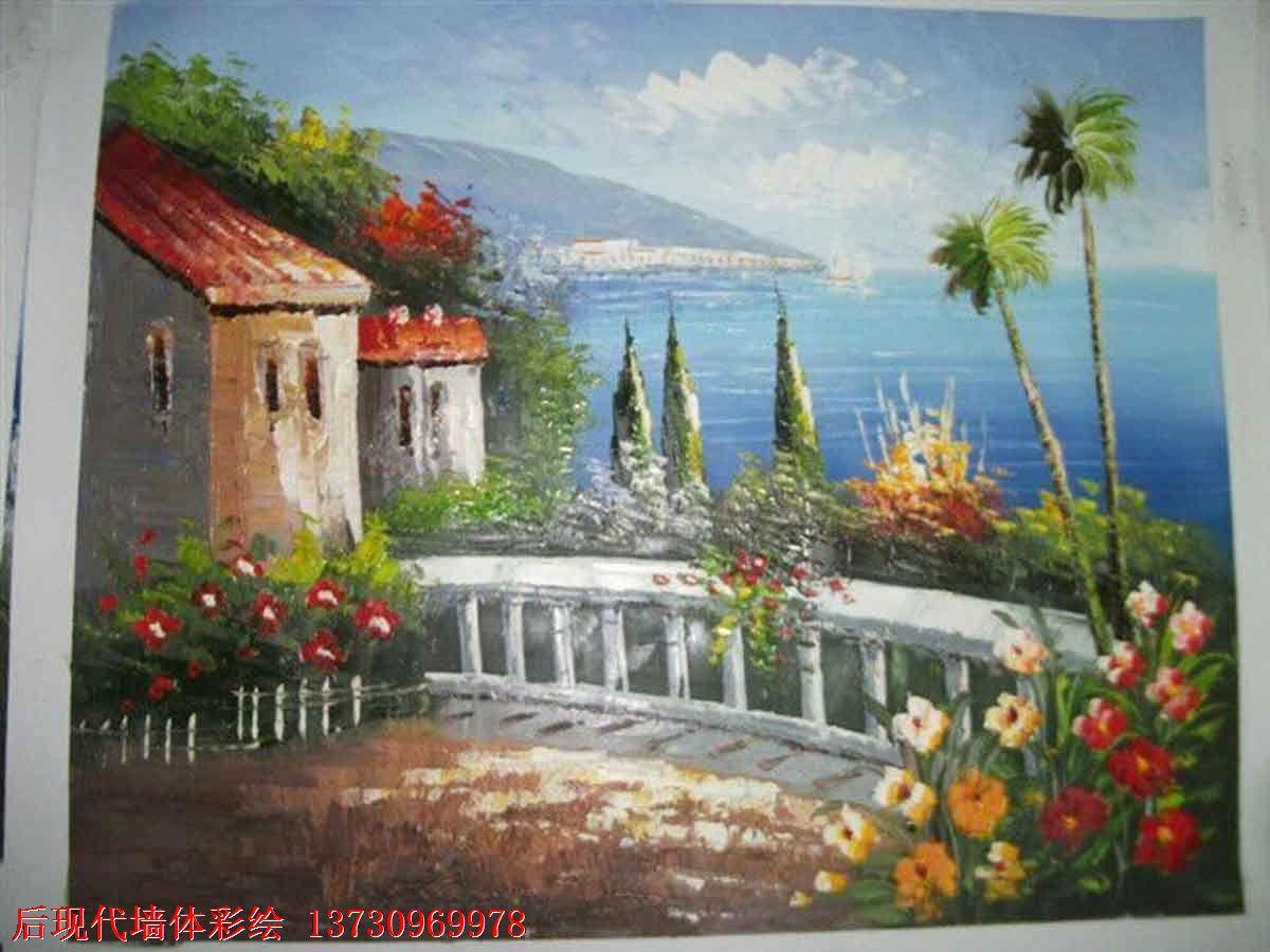 李沧区后现代手绘画坊主要经营青岛墙体彩绘 幼儿园
